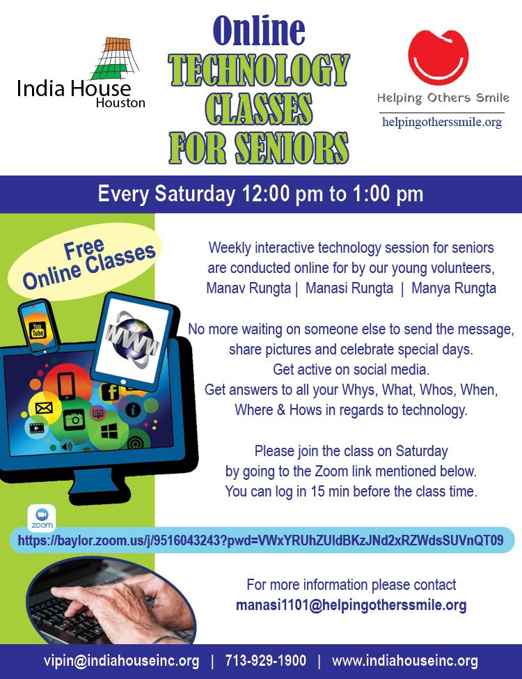Free Online Technology Classes for Seniors
