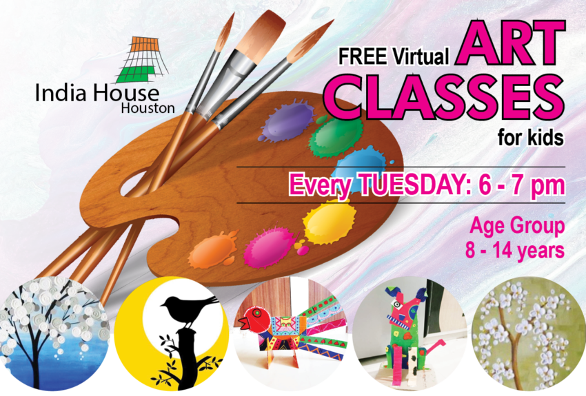 Free Online Art Class by India House